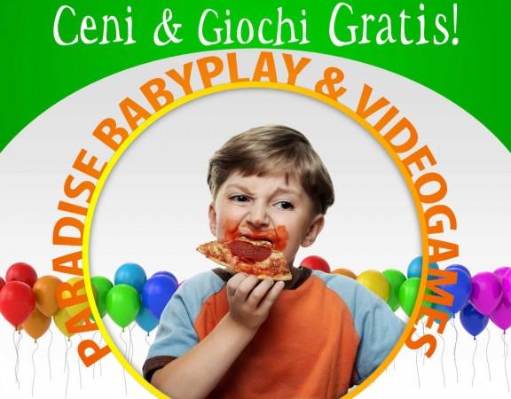 ceni e giochi gratis promozione ristorante bambini