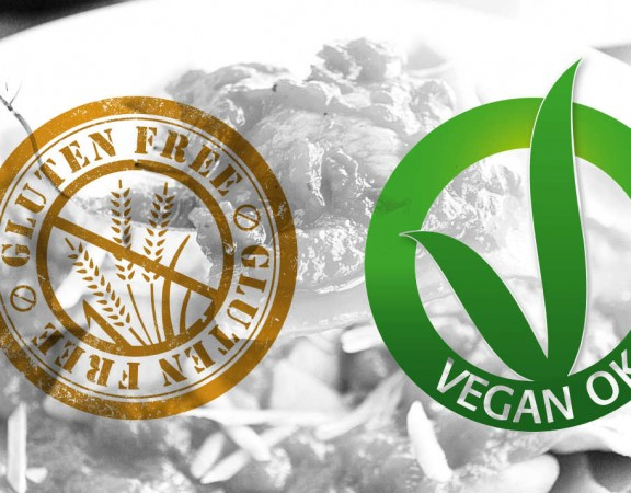 ristorante vegano senza glutine