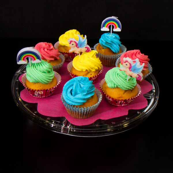mini cup cake colorati